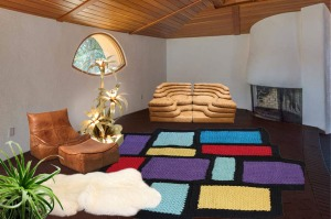 The 'Pottery House' by Frank Lloyd Wright with Untitled Rug